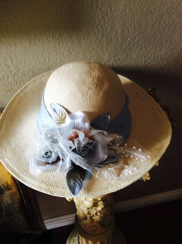 Victorian Hat-Easter hat-photoprop-hats-Nika – Elena Collection 9fd2c3adeaed