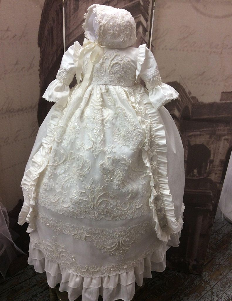 Heirloom Silk Christening Gown - William & Kate