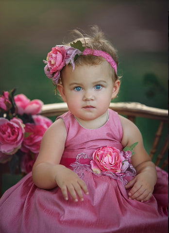 Aria-flowergirl dress-photoprop-toddler dress-
