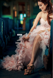 Couture Feather Dress-Moet