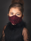 Lace Face Mask - Laura