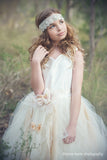 Flower Girl Pricess Silk Tutu Dress-Lyla - ElenaCollection  - 3