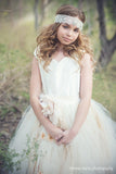 Flower Girl Pricess Silk Tutu Dress-Lyla - ElenaCollection  - 5