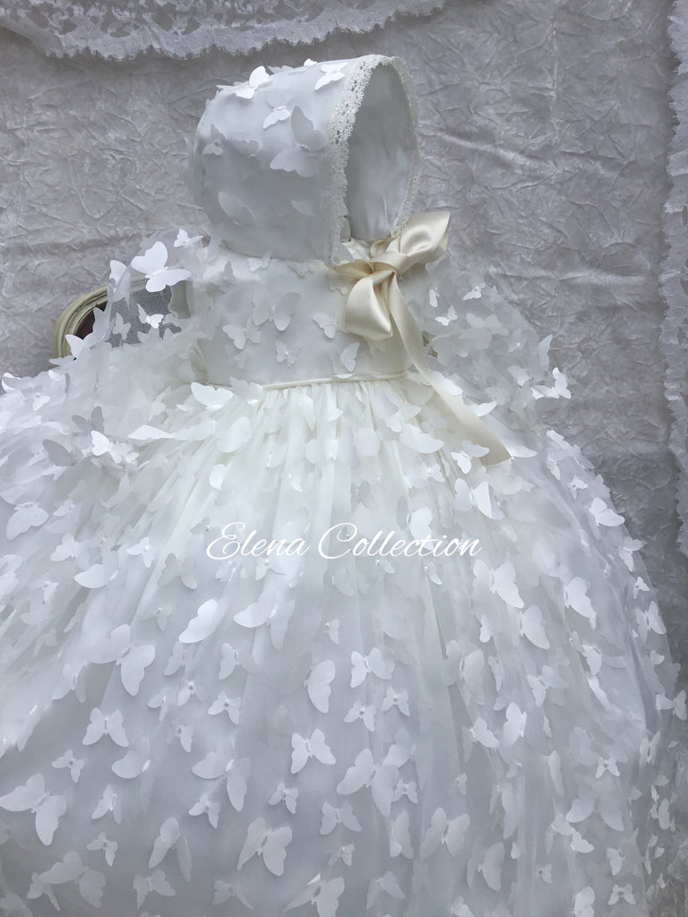Christening Gown - Butterfly
