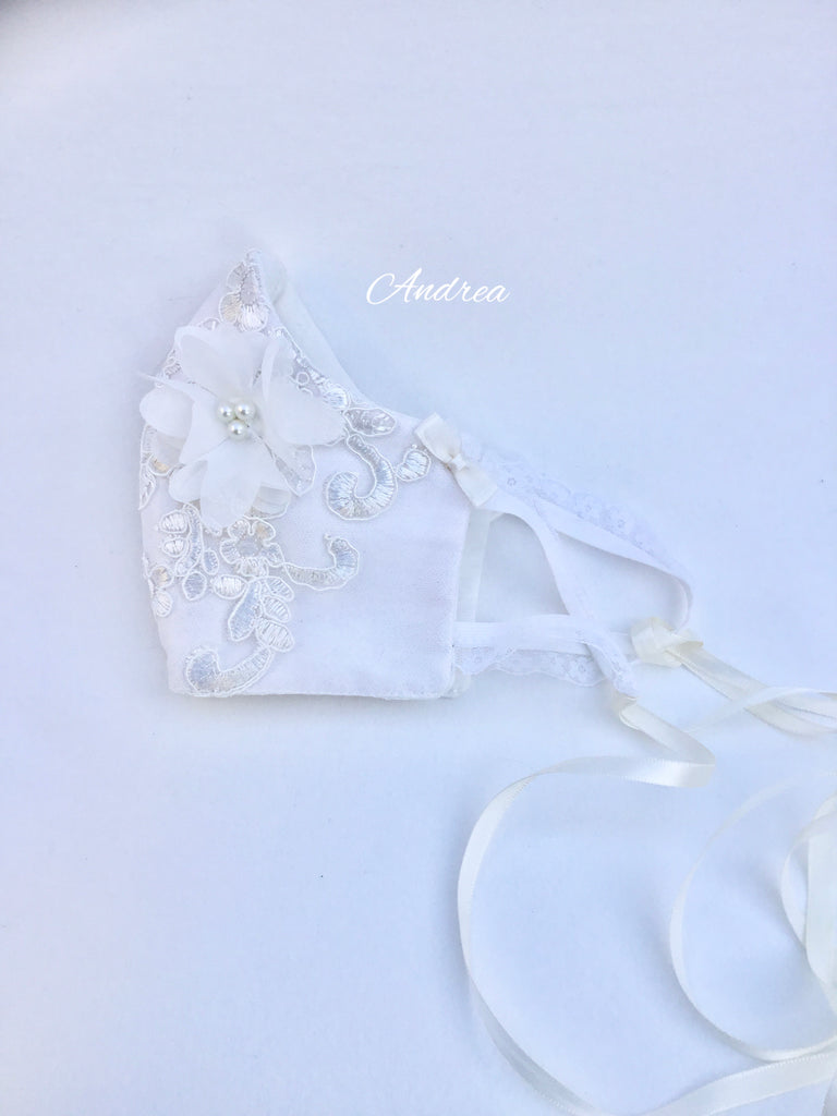 Bridal Face Mask - Andrea