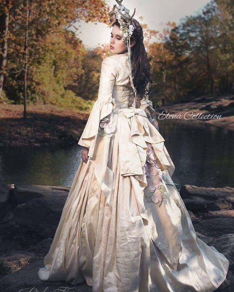 Rent a couture-victorian gown-Noelia
