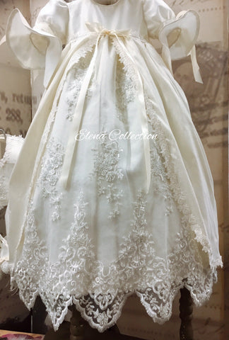 Christening gown boy girl-Jensen in stock.