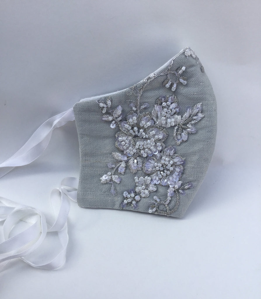 Bridal Face Mask - Viviana