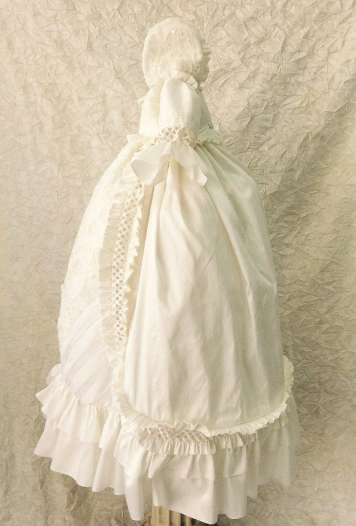 Heirloom Silk Baptism Gown unisex - Renato