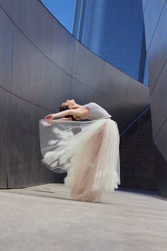 Rent a couture-Custom made ballet tutu skirt-Mia