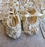 Christening shoes -Avery