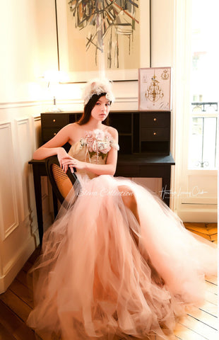 Bridal corset and skirt -Morganne
