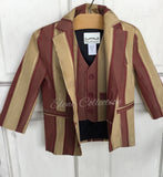 Boy silk jacket and vest-James