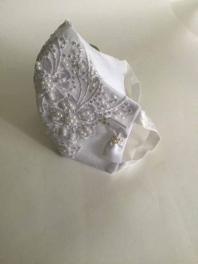 Bridal Bridesmaids Lace Mask-Gia