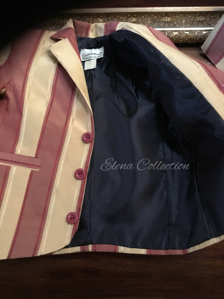 Boy Silk Jacket and Vest - James