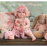 Dorothy Romper and Shower Cap - ElenaCollection  - 3