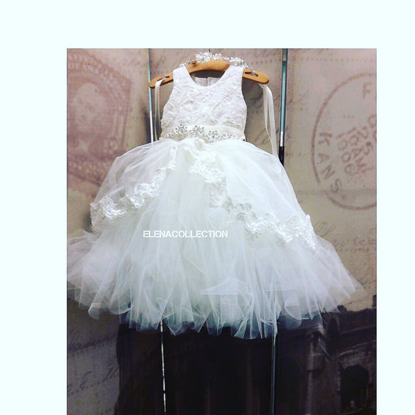 Flower girl tutu dress-Belinda