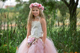 Flower girl tutu set-Quinn