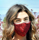 Lace Face Mask - Brinley