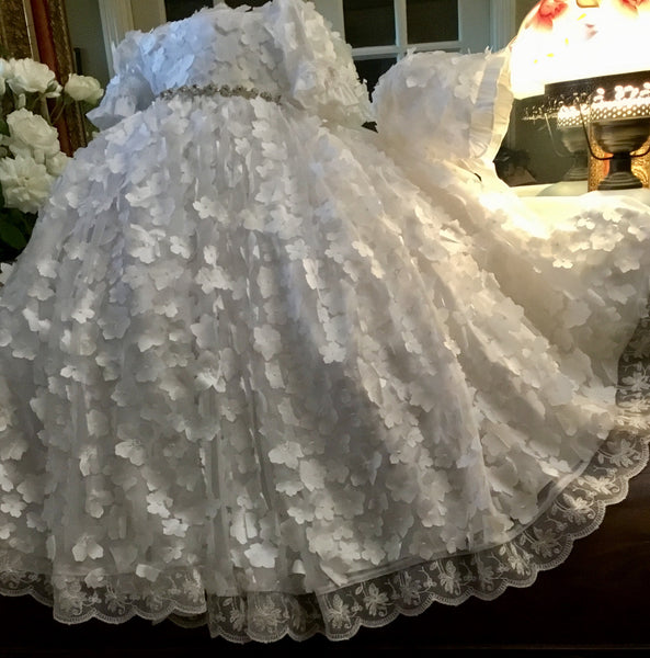 White christening gown-Orabella