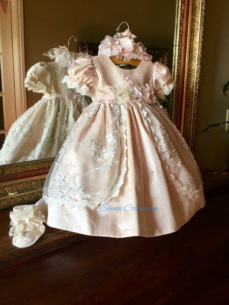Christening dress-Dorian in stock!
