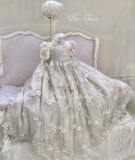 Heirloom Lace Christening Gown -Dior