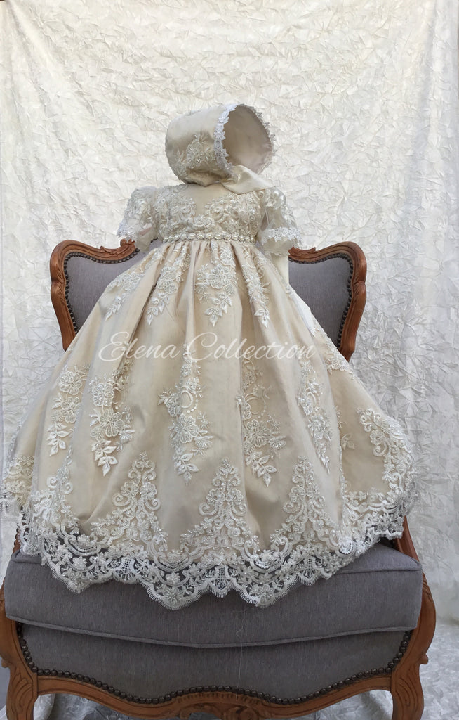Lace Heirloom Christening Gown - Georgia