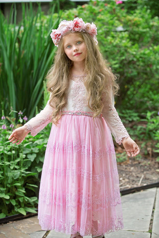 Rent a dress-flower girls-Quincy size 5-6