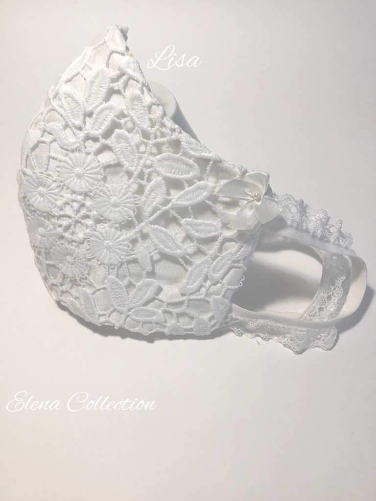 Bridal Face Mask - Lisa
