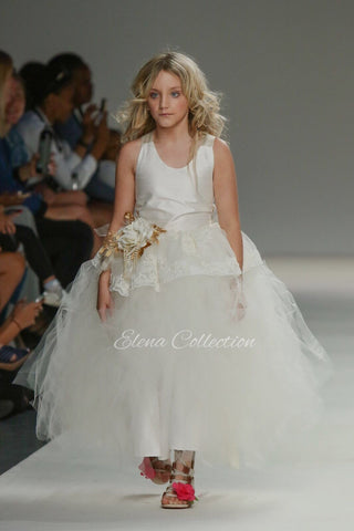 Flower girl tutu dress-Rafaella