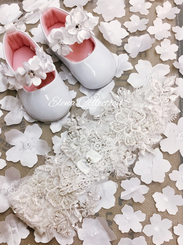 Christening shoes-Viviana