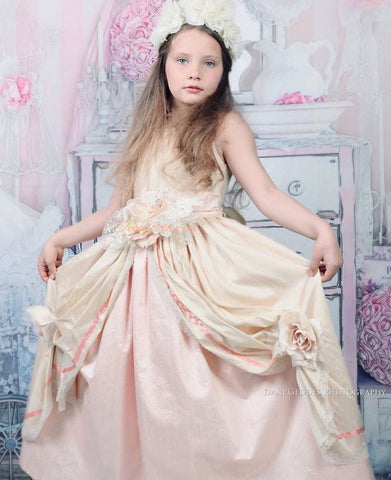 Flower girl dress-Noella
