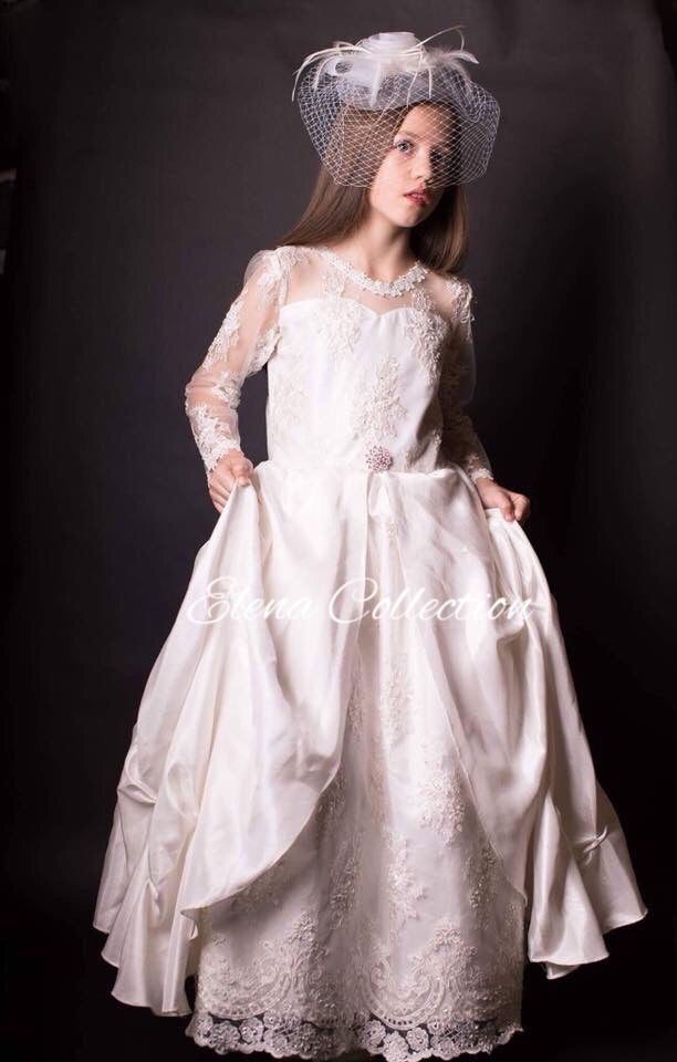 Communion Lace Dress -Camilla