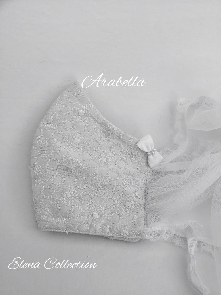 Bridal Face Mask - Arabella