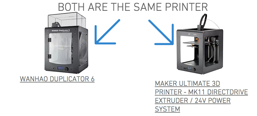 MONOPRICE 3D PRINTER MAKER ULTIMATE 3D PRINTER - GENUINE REPLACEMENT PARTS
