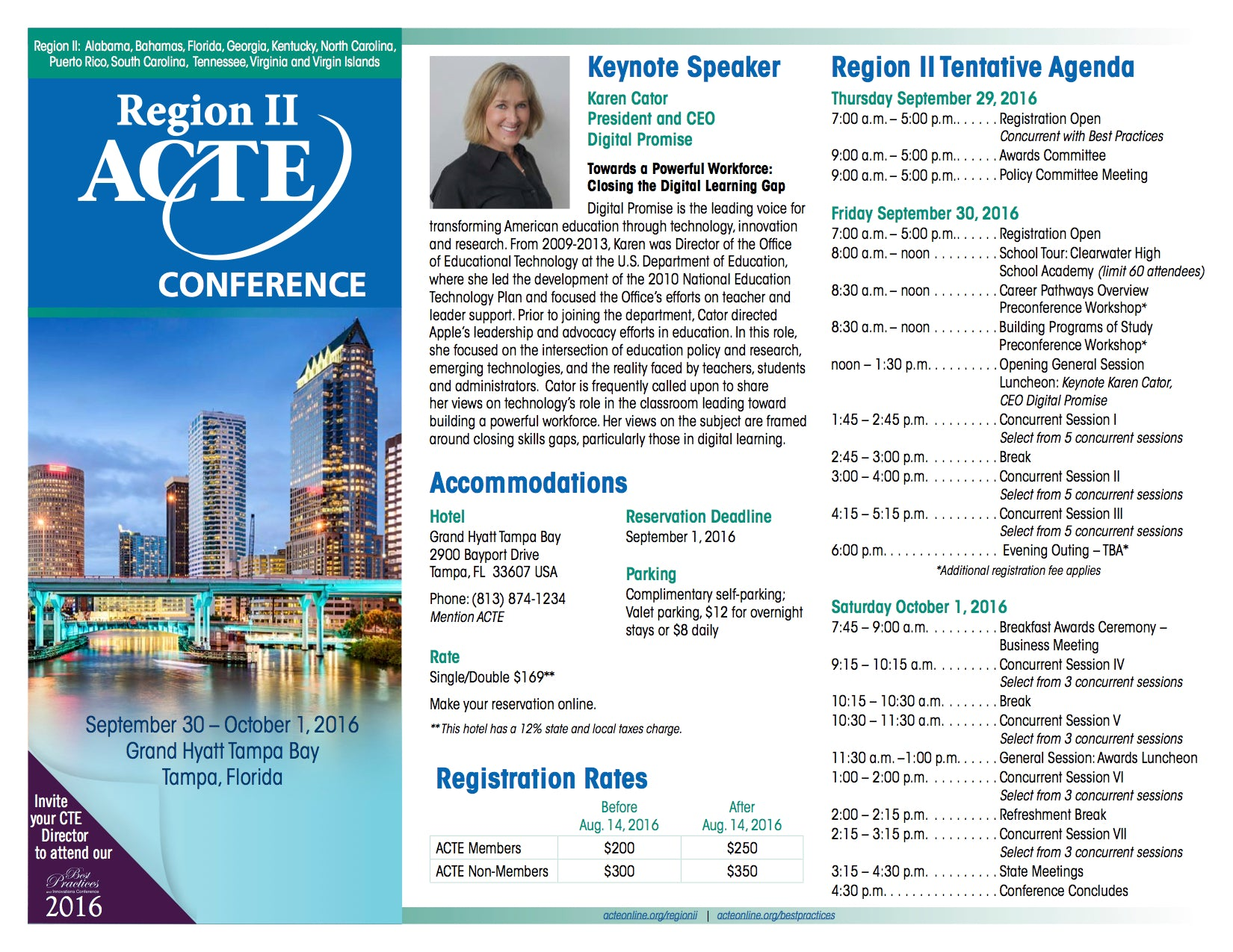 Best Practices and Innovation Conference & Region II Conference - Tampa Bay