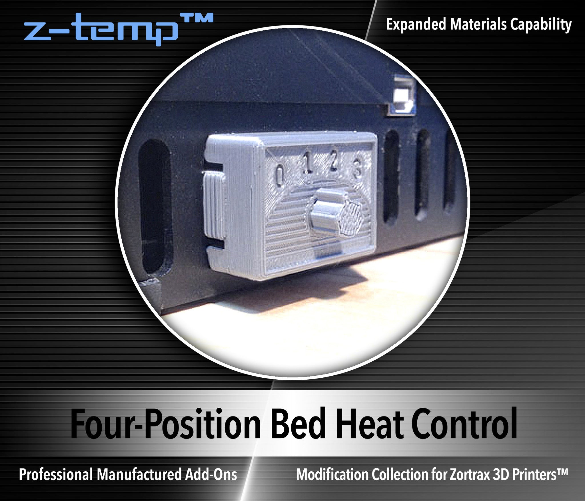 four position bed heat control ultimate 3d printing store the ztbh 02 bed heat control switch is included the z temp kit