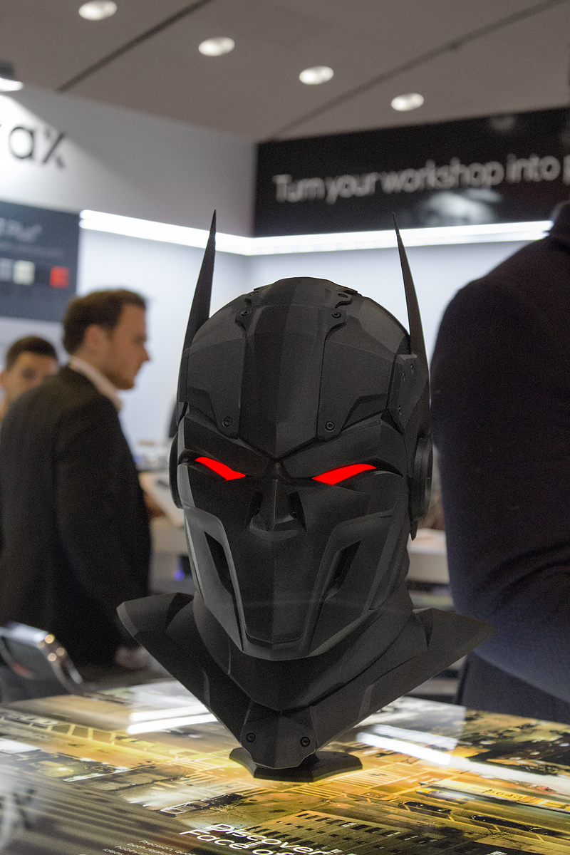Zortrax's free 3D printable Superhero Mask