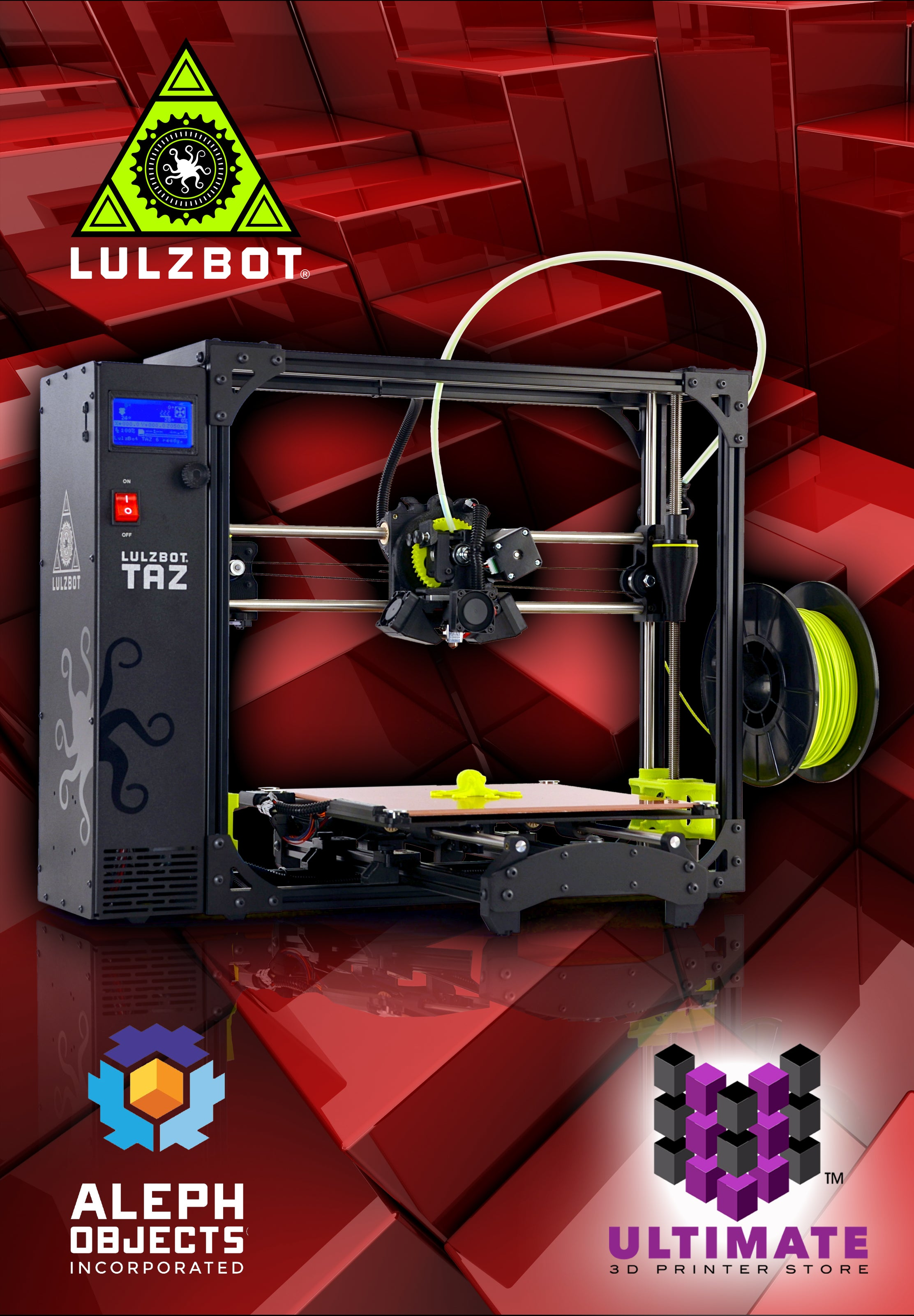 Lulzbot Taz 6 From Ultimate 3D Printing Store