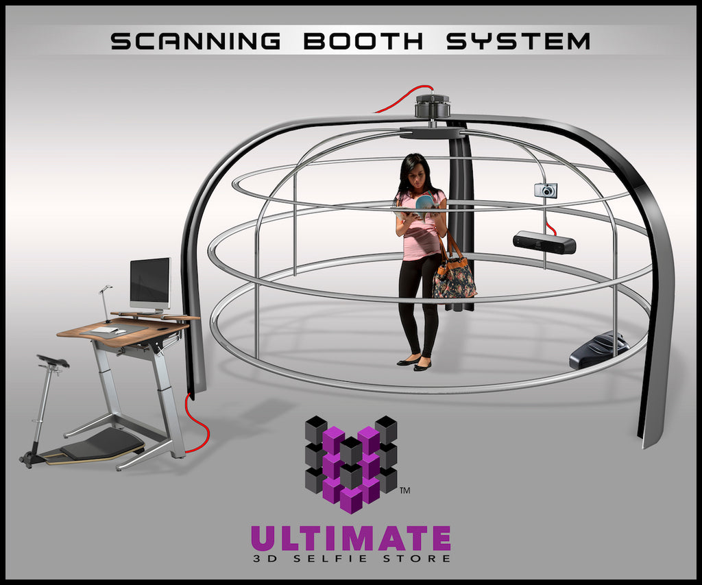 Ultimate 3D Selfie Store - Scanning Booth