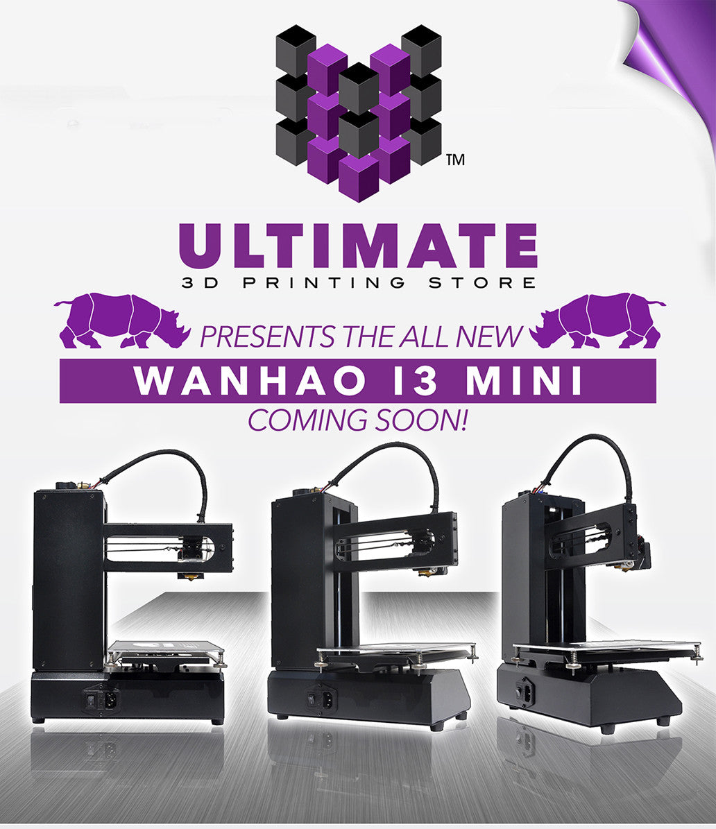 WANHAO I3 MINI - COMPACT 3D DESKTOP PRINTER