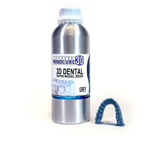 Monocure Rapid Model Dental Resin - Grey