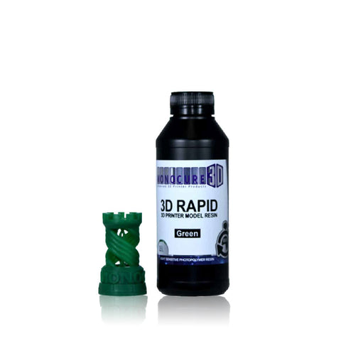Monocure Rapid 3D Resin 500mL Green