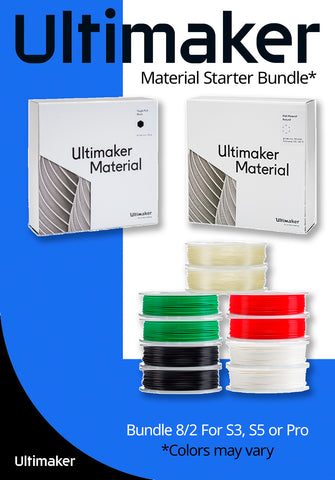 Ultimaker Material Starter Bundle 8/2 (Dual Extrusion) - Ultimate 3D Printing Store