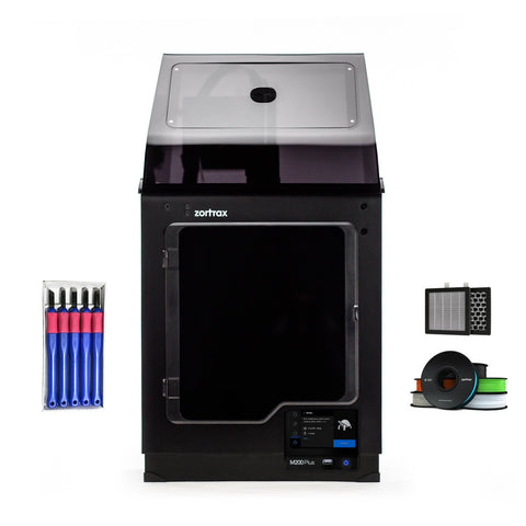 Zortrax M200 Plus 3D Printer Education Bundle w/ HEPA Air Filter