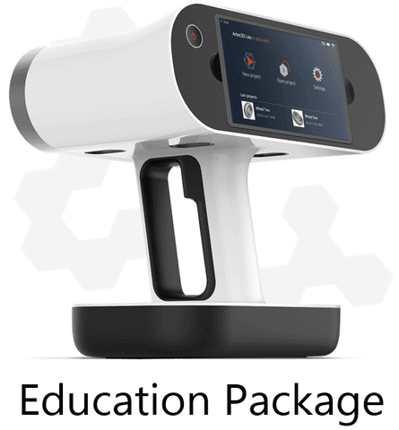 Artec Leo - Education Package - 3D Scanner - Ultimate 3D Printing Store