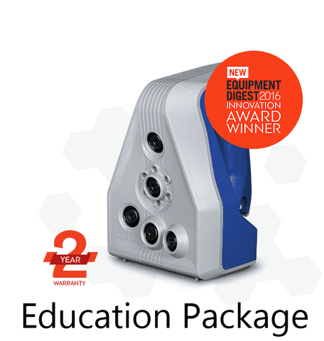 Artec Space Spider - Education Package - 3D Scanner - Ultimate 3D Printing Store