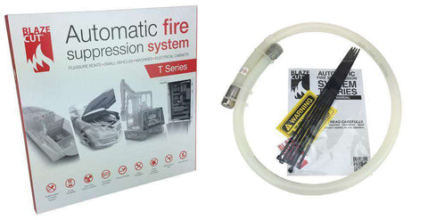 BlazeCut T-Series Fire Suppression for Devices: T100E - Ultimate 3D Printing Store