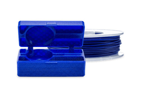 Blue - ultimaker TPU-95A filament 2.85mm (750g) - Ultimate 3D Printing Store