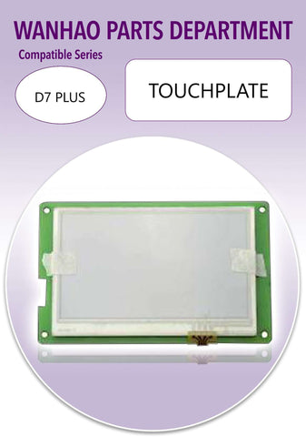D7 pus touch-plate - Ultimate 3D Printing Store